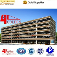 automatic car parking system/foshan puzzle type car parking solutions /Five-Deck Sideways-Moving and Lifting Type