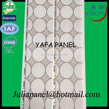 2015 Newest Nigeria lWith SGS Certification waterproof decorative pvc ceiling YAFA PVC ceiling