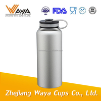 Hydro Flask wide mouth stainless steel insulated water bottle keeps drinks hot and cold for 24 hours
