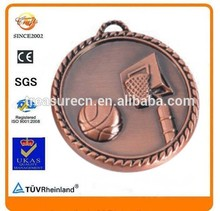 2015 Special Sales Metal Backboard Shoot Basketball Champions League Sport Medals