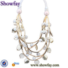 114586 316l stainless steel necklace chain mirrored