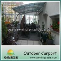 aluminum car parking canopy