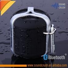 """""""Lifetime Warranty"""" Waterproof Shower Bluetooth Portable Speaker (Black)"""