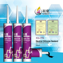 construction usage, neutral cure aluminum glass door rtv silicone sealant