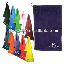 "Dark Colored Fingertip Custom Golf Towel - 11""w x 18""h"