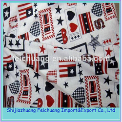 lovely cartoon printed Woven Morocco Turkey Cotton kids Fabric