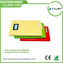 Rechargeabledual usb cell phone power bank case