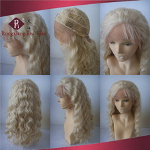 Professional Heat Resistant Hair Synthetic Lace Front blonde lace wig