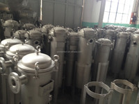 sanitary grade 2P2S SS waste water filter