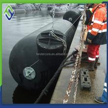 Marine ship rubber marine fender floating fender export to Batam shipyard