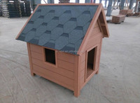 High Quality Weather proof Fashion design wpc pet house