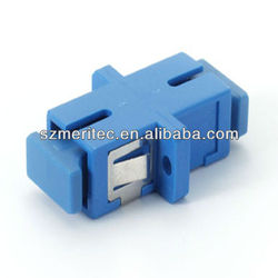 Singlemode Fiber SC Simplex Optical Adapter in Telecommunication Equipment