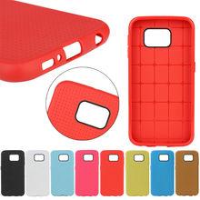 For Samsung S6 Plain Silicon Cover
