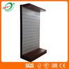Shopping Mall single side slatwall Display Shelf