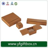 Wholesale Custom Logo Plain Leather Storage Jewelry Box