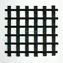 warp knitting fiberglass geogrid used in reinforcement of asphalt pavement
