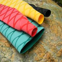 Heat shrinkable Fishing rod handle cover tube