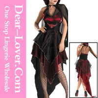 2014 halloween costumes china Evil Vampire Halloween fancy dress costumes for sale
