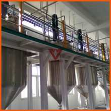 Walker stainless steel jacketed mix tank
