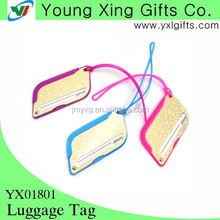 Promotional Travel Cool Luggage Tag/fashional luggage