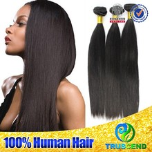 Full cuticle 6A brazilian hair weaving, Natural Color brazilian hair bundles, Unprocessed wholesale 100% Virgin Brazilian Hair