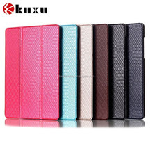 360 Rotation PU Leather Flip Case for Apple iPad 6 Air 2 ipad6 Stand Cases Smart Cover With Automatic Sleep & Wake up