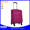 Popular purple color leisure time travel luggage bags