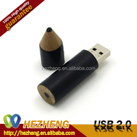 New Style Gift ! 8GB Wooden Rectangle Pencil USB Flash Memory Drive