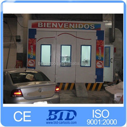 used auto paint booth for sale/portable spray booth/truck paint booth for sale/popular in alibaba.com spray booth BTD7200 model