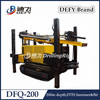 200m cost effective air compressor water well used crawler mounted drilling rig