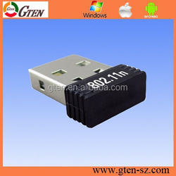 2.4GHz network card 150Mbps wireless adapter 802.11n RT8188CUS rj45 wireless network adapter