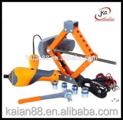 high quality but cheap price conveninet 12V portable car body repair tool electric car jack
