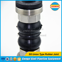 Expansion Rubber Joint Bellows Rubber Joint with Screw