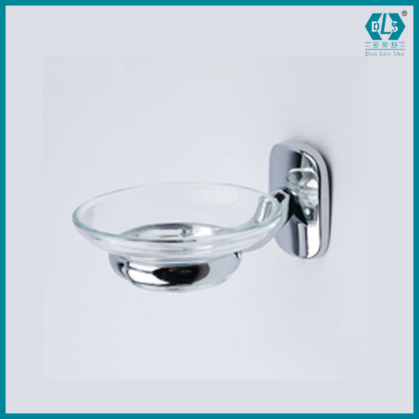 Victorice Manufacturers 10002 All Kinds Of Bathroom Accessories Zinc Material Glass Shelf 6pcs
