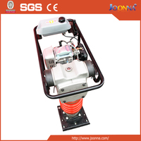 12KN 70KGS Portable Petrol/Gasoline Vibratory Tamping Rammer For Sale With 4HP Robin Type Engine