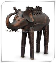 Home and Garden Decoration Antique Bronze Elephant Statue