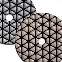 Dholesale Diamond tools dry polishing pads for concrete, granite, marble