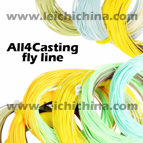 In stock no moq complete types fly fishing line buy for Types of fishing line