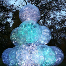 fiber optic outdoor ball light waterproof RGB ball light