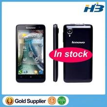 In stock original Free Shipping Russian Original Lenovo P770 Android 4.1 MTK6577 4.5inch Capacitive Screen JAVA GPS 3500mAh