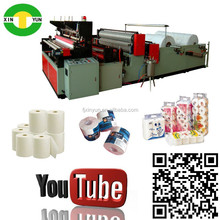 High speed edge trimming roll paper toilet processing Machinery production