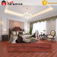 3D inkjet ceramic coconut wood flooring tile