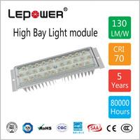 50W LED Flood Light Module 5000K 120lm/W IP66 24/36/60/90 Degree Optic Lens Available