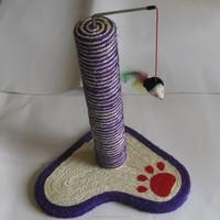 40CM high sisal cat scratching post cat toy