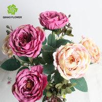 Artifical silk rose fake flower artificial flower