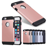 Wholesale Batches Rose gold color For iphone 6s case,tough armor case for iphone 6s,hard pc case for iphone 6s plastic cover