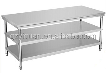 More Stainless Steel Work Tables. 3 Layers Work Table. QQ20150313170054