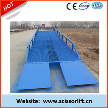 Brand new 6T hydraulic mobile/movable forklift-container loading ramp for sale