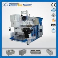QMY18-15 concrete plan hollow block machine