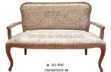 European Style Chesterfield Customized Wooden Leisure Chair